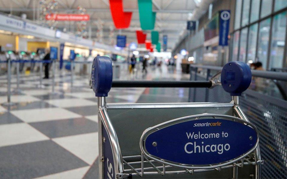 قائمة وجهات السفر الطارئة إلى شيكاغو