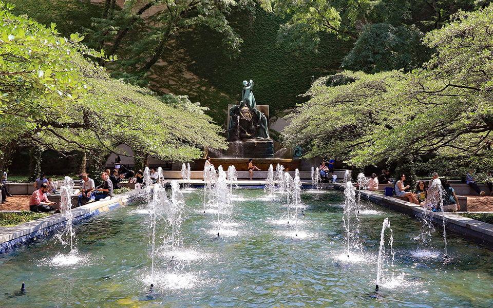 أجمل الحدائق في شيكاغو - الجزء الثاني
