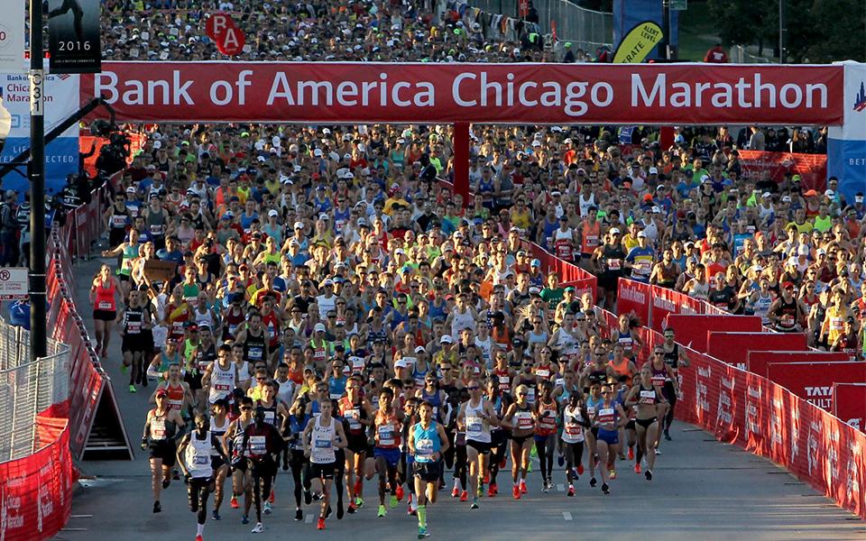 استثناءات لمشتركي ماراثون Bank of America Chicago